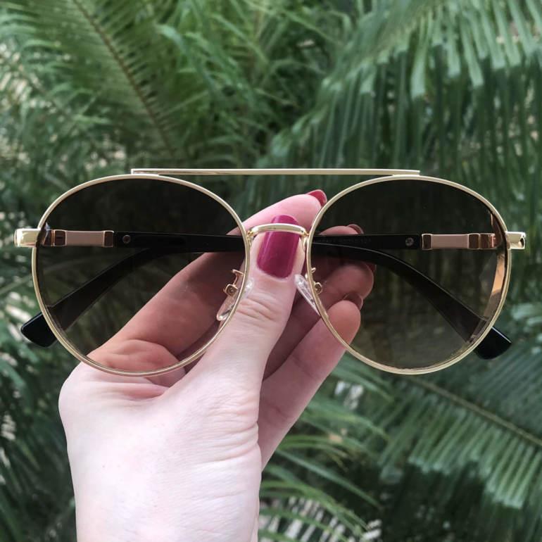 safine com br oculos de sol aviador marrom lana 3