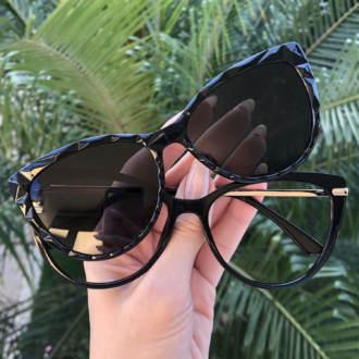 safine com br oculos 2 em 1 gatinho preto lia 3