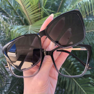 safine com br oculos 2 em 1 gatinho transparente ana