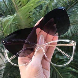 safine com br oculos 2 em 1 gatinho transparente com rose mia 3