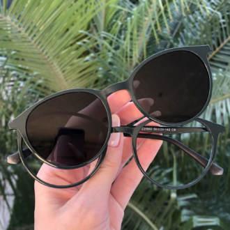 safine com br oculos 2 em 1 redondo verde cloe 2