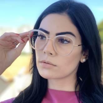 safine com br oculos de grau gatinho nude cris 2