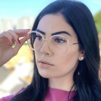 safine com br oculos de grau gatinho transparente cris 2