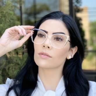 safine com br oculos de grau gatinho transparente yasmin 1