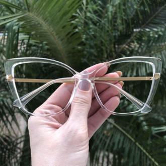 safine com br oculos de grau gatinho transparente yasmin 4