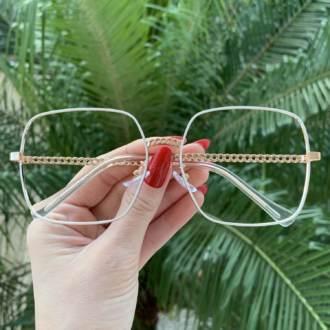 safine com br oculos de grau quadrado branco lauren