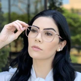 safine com br oculos de grau retangular nude lulu 3