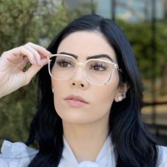 safine com br oculos de grau retangular transparente lulu 2